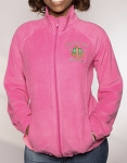 Alpha Kappa Alpha Fleece Jacket with two embroidery versions