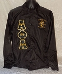 Alpha Phi Alpha Embroidered Windbreaker