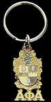 Alpha Key Ring with Crest