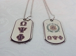 Omega Double sided Dog Tag
