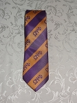 Omega Greek Letter Neck Tie