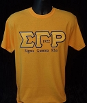 SGRho Embroidered Greek Letter Tee