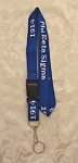 Phi Beta Sigma Lanyard with Detachable Key Ring
