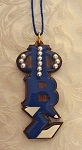 Phi Beta Sigma Handcrafted Wooden Tiki