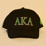Alpha Kappa Alpha Baseball Cap with Letters
