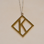 Kappa Alpha Psi Diamond K Pendant