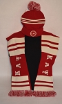 Kappa Alpha Psi Beanie and Scarf Set
