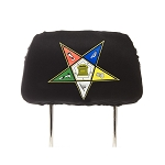 Order of Eastern Star Headrest Cover