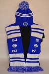 Zeta Phi Beta Scarf and Beanie Set