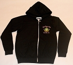 Alpha Kappa Alpha Ladies Black Zipper Hoodie