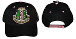 AKA Embroidered Baseball Cap in Black or Pink