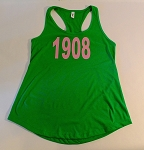 Alpha Kappa Alpha Racerback Tank with Year