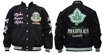 Alpha Kappa Alpha Embroidered Racing Jacket