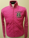 Alpha Kappa Alpha Sweater Jacket in Pink or Black
