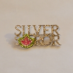 Alpha Kappa Alpha Silver Soror Fashion Pin