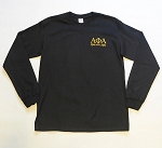 Alpha Phi Alpha Long Sleeve Tee - Embroidered