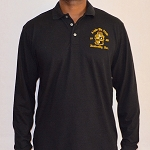Alpha Long Sleeve Embroidered Polo