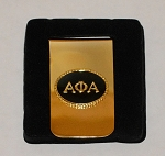 Alpha Phi Alpha Greek Letter Money Clip