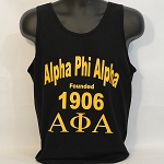 Alpha Phi Alpha Tank with Name - Letters and Year