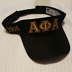 Alpha Embroidered Visor