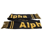 Alpha Knit reversible Scarf