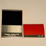 Kappa Engraved Business Card Holder