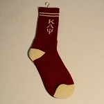 Kappa Greek Letter Socks