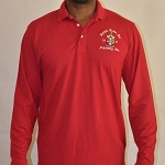 Kappa Long Sleeve Krimson Polo