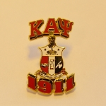 Kappa Alpha Psi 3D Lapel Pin