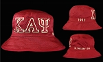 Kappa Embroidered Krimson Bucket Hat