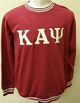 Kappa Krimson Crewneck with Embroidered letters