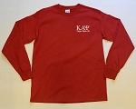 Kappa Embroidered Long Sleeve Tee - Krimson