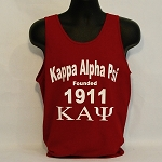 Kappa Tank with Founding Year and More