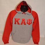 Kappa Alpha Psi Embroidered Greek Letter Hoodie