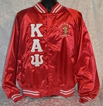 Kappa Alpha Psi Satin Baseball Jacket