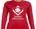 Kappa Alpha Psi Silhouette Tee -Long Sleeve