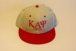 Kappa Embroidered Snapback Cap with Letters and Year