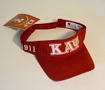 Kappa Embroidered Visor with Letters