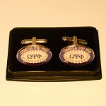 Omega Psi Phi Cuff Links with Name Founding Year and more