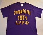 Omega Psi Phi  Founding Year Tee