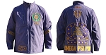 Omega Psi Phi  Windbreaker with Embroidery