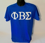 PBS Greek Letter Tee with Year