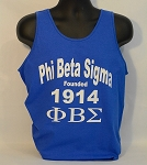 PBS Tank with Fraternity Name - Letters and Founding Year