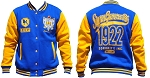 SGRho Fleece Jacket with embroidered front
