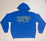 SGRho Embroidered Hoodie