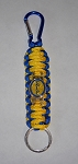 SGRho Woven Key Ring w/Carabiner