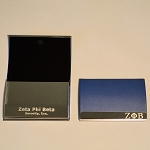 Zeta Laser Engraved Business Card Holder