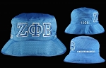 Zeta Greek Letter Floppy Hat