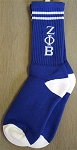 Zeta Greek Letter Socks