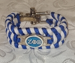 Zeta Paracord/Survival Braided Bracelet